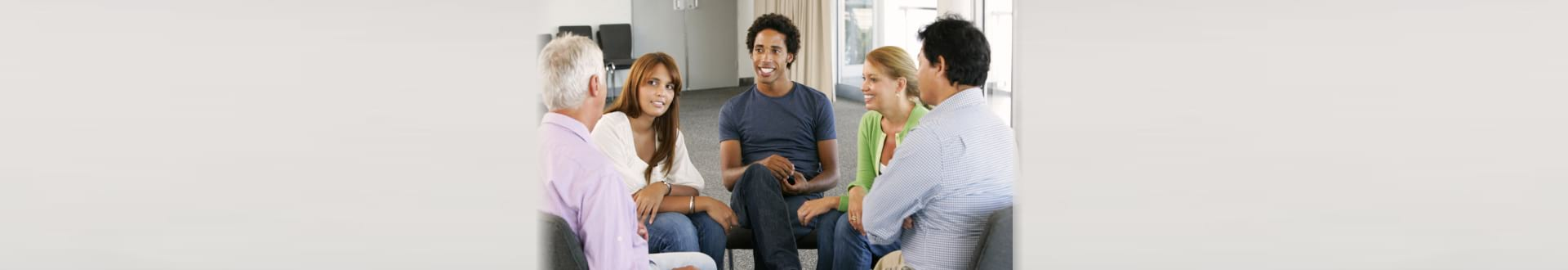 people talking on a counseling